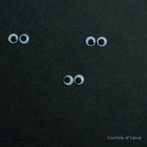 Three eyes in the dark